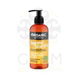 Organic Kitchen Summer wish list, Φυσικό αφρόλουτρο, για ενυδάτωση και θρέψη 260ml