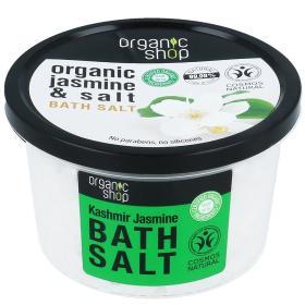 Organic Shop Bath salt Kashmir jasmine, Άλατα για το Μπάνιο Kashmir Jasmin, 250ml.