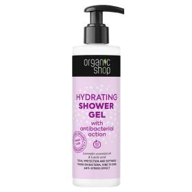 Organic Shop Ενυδατικό Shower Gel με αντιβακτηριακή δράση, 280ml