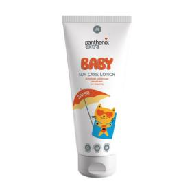 Panthenol Extra Baby Sun Care Lotion SPF50, Αντηλιακό γαλάκτωμα, προσώπου και σώματος, 200ml