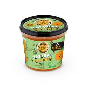 Planeta Organica Skin Super Good, Φυσικό Απολεπιστικό σώματος «C+ Citrus», για τόνωση, 360ml