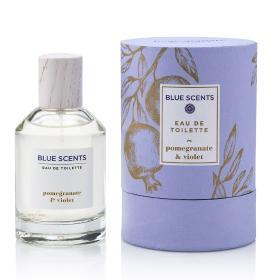 Blue Scents Eau De Toilette Pomegranate & Violet 100ml