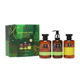 Apivita SUPERTONIC BATH christamas gift box 300ml / 250ml /200ml