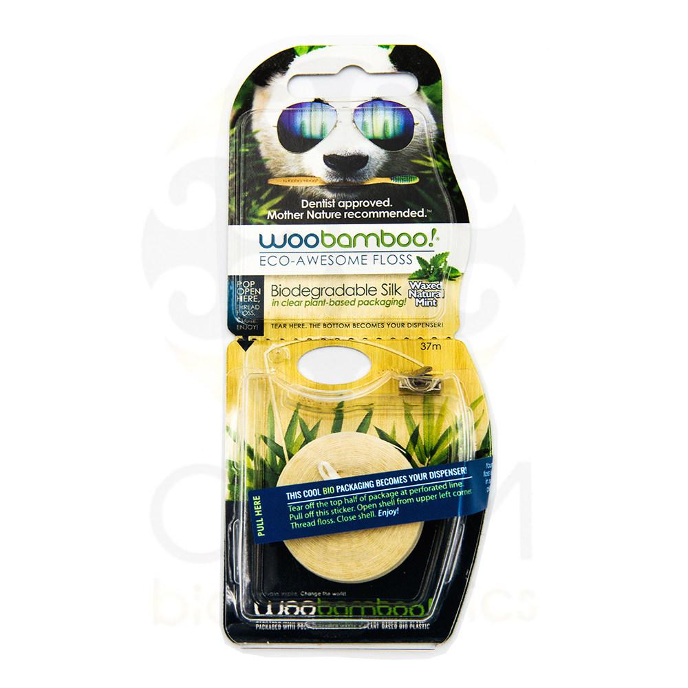 Woobamboo Eco-awesome Dental Floss, Οικολογικό Οδοντικό Νήμα