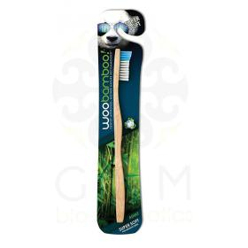 Woobamboo Eco-friendly Adult Biodegradable Toothbrush super soft -Woobamboo βιοδιασπώμενη Οδοντόβουρτσα για ενήλικες Πολύ Μαλακή