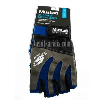 Γάντια Ψαρέματος Mustad Half Finger Casting Gloves
