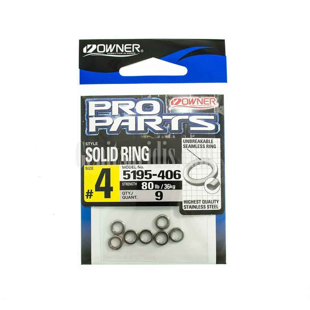 Κρικάκια Owner Solid Ring