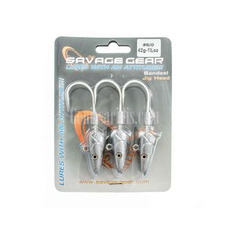 Μολιβοκεφαλές για σιλικονούχα Savage Gear Sandeel
