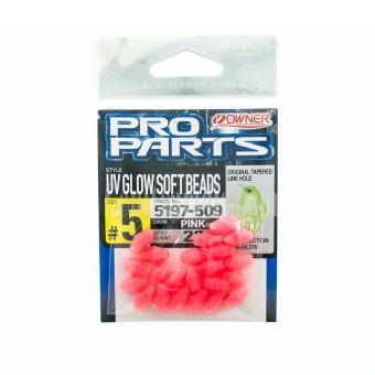 Χάντρες Φωσφορούχες Owner UV Glow Soft Beads