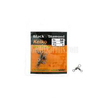 Διπλά Στριφτάρια Black Diamond Keiko Inox Combi