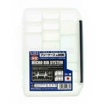 Κουτί Αποθήκευσης με Αποσπόμενα Τυχόματα Meiho Micro Rib System