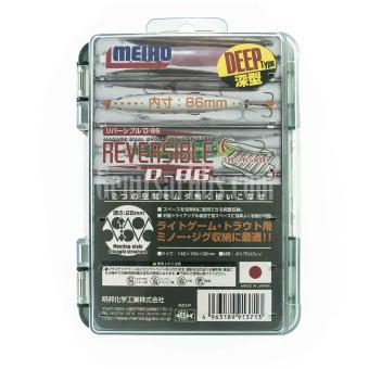 Κουτί Αποθήκευσης Διπλό Meiho Reversible