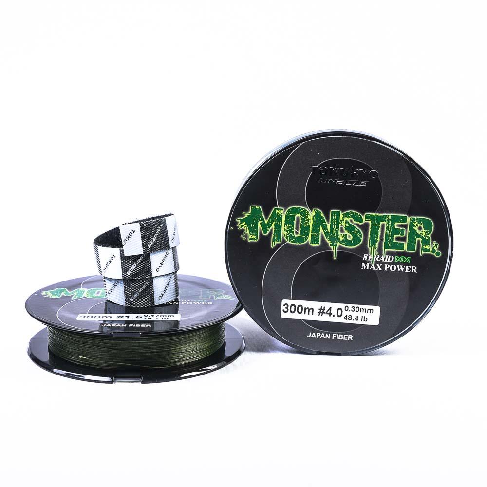 Νήμα Tokuryo Monster 8Braid 300m Green