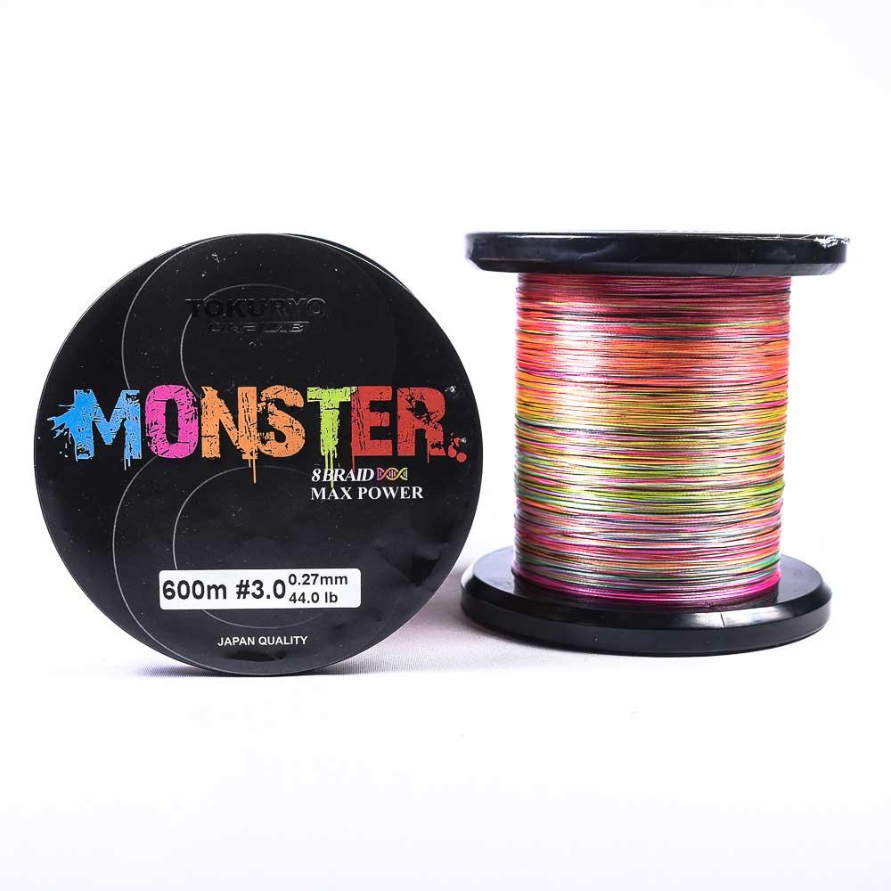 Νήμα Tokuryo Monster 8Braid 600m Multicolor