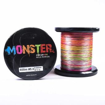 Νήμα Tokuryo Monster 8Braid 600m Multicolor
