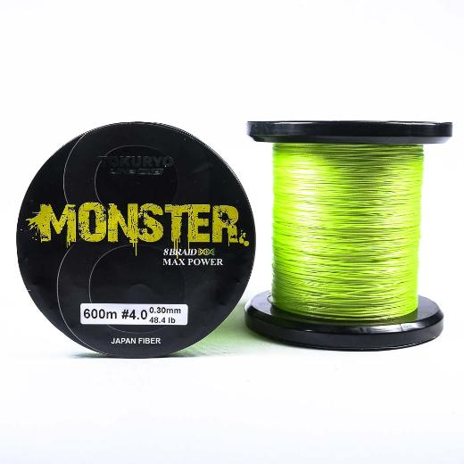 Νήμα Tokuryo Monster 8Braid 600m Light Green