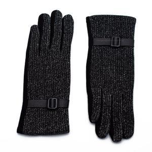 Γυναικεία Γάντια Verde Μαύρο 02-0398b