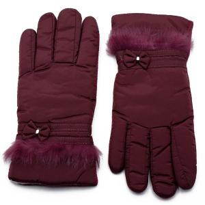 Γυναικεία Γάντια Verde Μπορντό 02-0433r