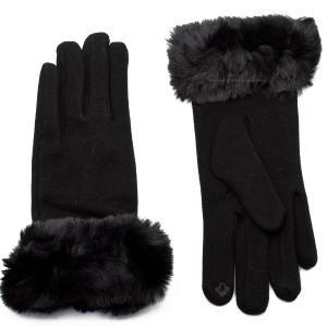 Γυναικεία Γάντια Verde Μαύρο 02-0439b