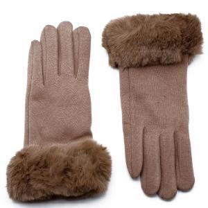 Γυναικεία Γάντια Verde Μπεζ 02-0439bg