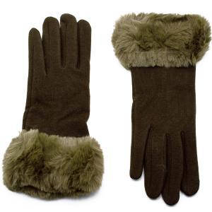 Γυναικεία Γάντια Verde Χακί 02-0439h