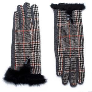 Γυναικεία Γάντια Verde Μαύρο 02-0441b