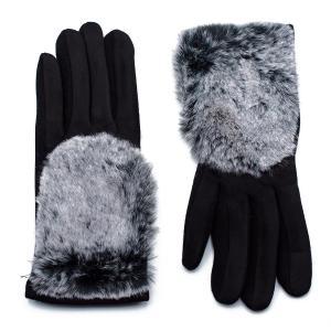 Γυναικεία Γάντια Verde Μαύρο 02-0443b