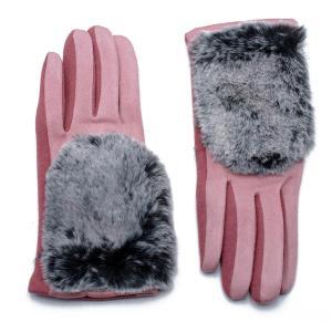 Γυναικεία Γάντια Verde Ροζ 02-0443p