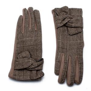 Γυναικεία Γάντια Verde Καμηλό 02-0466c