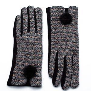 Γυναικεία Γάντια Verde Μαύρο 02-0478b