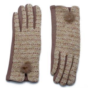 Γυναικεία Γάντια Verde Μπεζ 02-0478bg