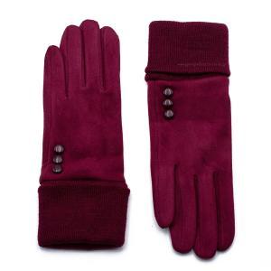 Γυναικεία Γάντια Verde Σκούρο Κόκκινο 02-0479dr