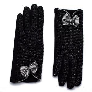 Γυναικεία Γάντια Verde Μαύρο 02-0498b