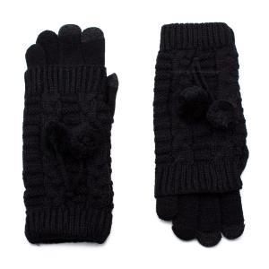 Γυναικεία Γάντια Verde Μαύρο 02-0502b