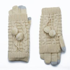 Γυναικεία Γάντια Verde Μπεζ 02-0502bg