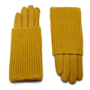 Γυναικεία Γάντια Verde Κίτρινο 02-0518y