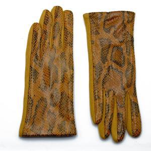 Γυναικεία Γάντια Verde Κίτρινο 02-0536y