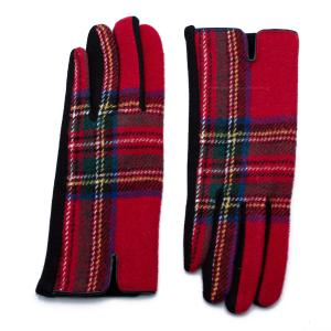 Γυναικεία Γάντια Verde Κόκκινο 02-0540r