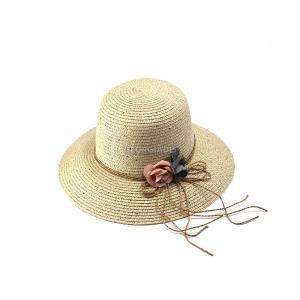Γυναικείο Καπέλο με Φιόγκο και Λουλούδια Verde 05-0483