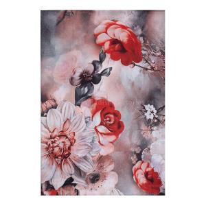 Φουλάρι Μεταξωτό Με Λουλούδια 06-01-0002
