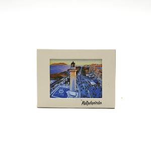 Alexandroupoli Souvenir Passepartout Magnet 1112-0020