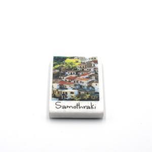 Samothrace Souvenir Marbel Magnet 1112-0028