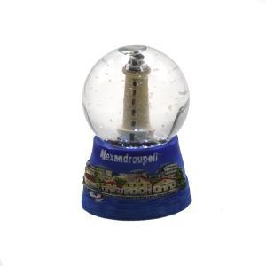 Alexandroupoli Souvenir Snow Globe 1112-0036