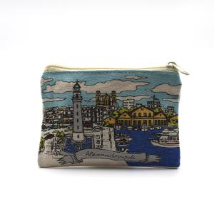 Alexandroupoli Souvenir Canva Wallet 112-0038
