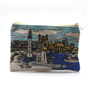 Alexandroupoli Souvenir Canva Wallet 1112-0039