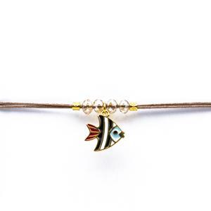 Γυναικείο Χειροποίητο Βραχιόλι με Ψάρι 12-0007