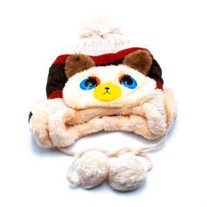 Παιδικό Σκουφάκι για Αγόρι με Εσωτερική Επένδυση , Κορδώνι με Φούντα και Σχέδιο Αρκούδακι 12-01-011