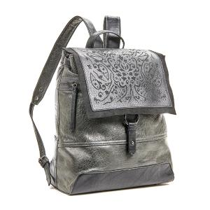 Γυναικεία Τσάντα Πλάτης Verde 16-5805