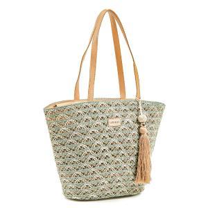Τσάντα Θαλάσσης Verde Ψάθινη 48-0148