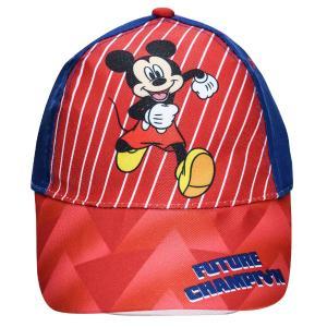 Παιδικό Καπέλο Jockey Mickey Mouse Κόκκινο